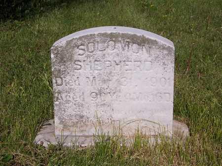 SHEPHERD, SOLOMON - Monroe County, Iowa   SOLOMON SHEPHERD