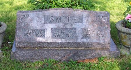 CURTIS SMITH, MARY C. - Monroe County, Iowa | MARY C. CURTIS SMITH