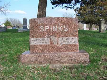 SPINKS, ELSIE M. - Monroe County, Iowa | ELSIE M. SPINKS