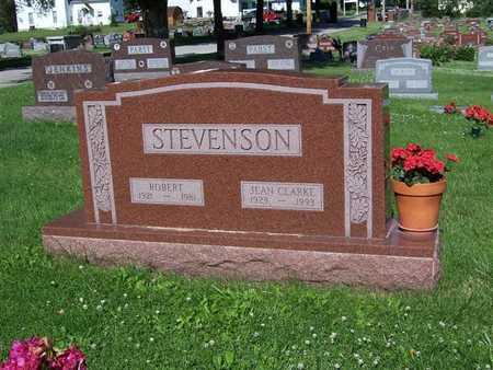 STEVENSON, JEAN - Monroe County, Iowa   JEAN STEVENSON