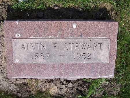 STEWART, ALVIN E. - Monroe County, Iowa | ALVIN E. STEWART
