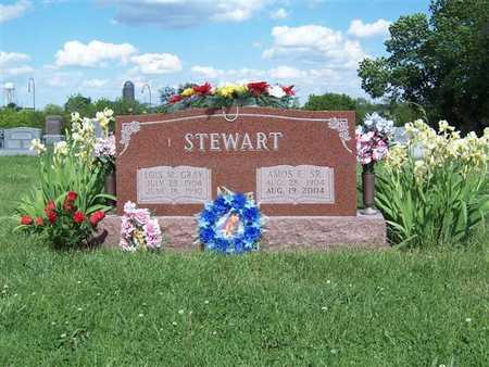 STEWART, AMOS E. SR. - Monroe County, Iowa | AMOS E. SR. STEWART