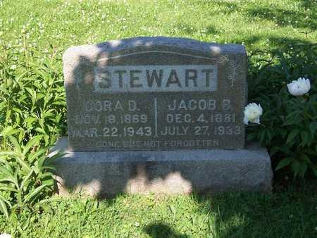 STEWART, CORA B. - Monroe County, Iowa | CORA B. STEWART