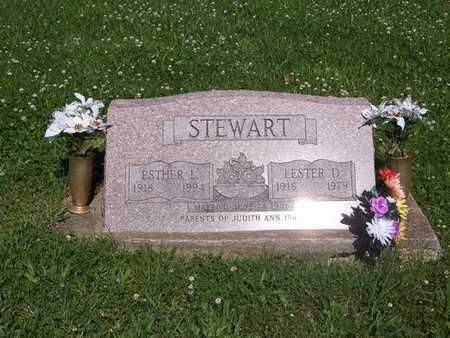 HORSTMAN STEWART, ESTHER L. - Monroe County, Iowa | ESTHER L. HORSTMAN STEWART