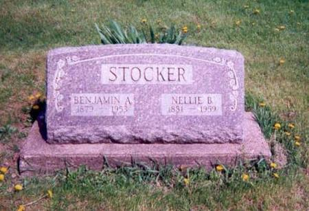 STOCKER, BENJAMIN A. & NELLIE B. - Monroe County, Iowa | BENJAMIN A. & NELLIE B. STOCKER