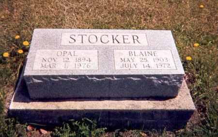 STOCKER, OPAL - Monroe County, Iowa | OPAL STOCKER