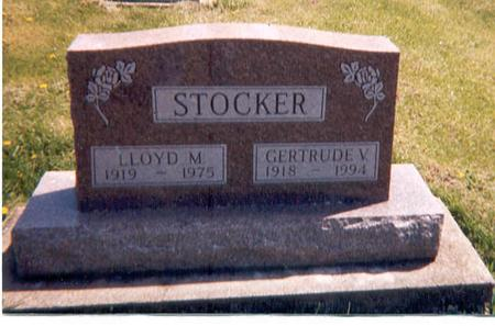 WISE STOCKER, GERTRUDE V - Monroe County, Iowa | GERTRUDE V WISE STOCKER