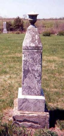 STOCKER, MARY E (ELIZABETH) - Monroe County, Iowa | MARY E (ELIZABETH) STOCKER