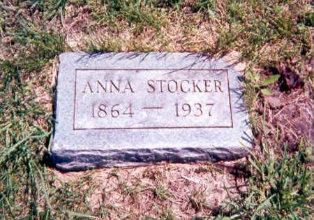 STOCKER, SARAH ANNA - Monroe County, Iowa | SARAH ANNA STOCKER
