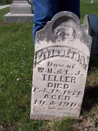 TELLER, ELIZABETH A. - Monroe County, Iowa | ELIZABETH A. TELLER