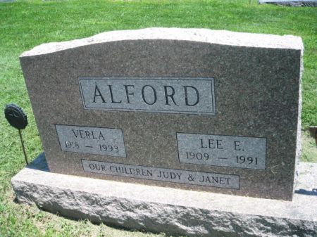 ALFORD, VERLA - Montgomery County, Iowa | VERLA ALFORD
