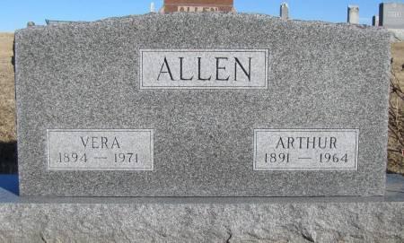 ALLEN, ARTHUR - Montgomery County, Iowa | ARTHUR ALLEN