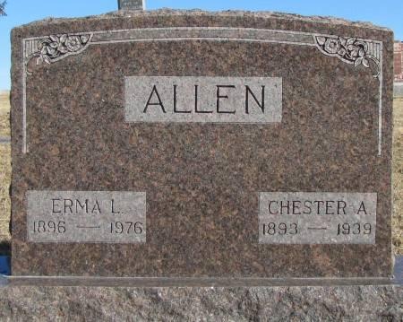 ALLEN, CHESTER A - Montgomery County, Iowa | CHESTER A ALLEN