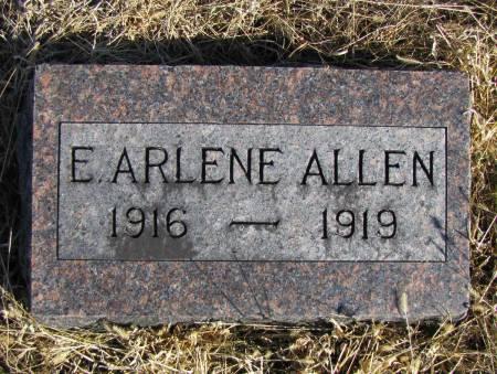 ALLEN, E ARLENE - Montgomery County, Iowa | E ARLENE ALLEN