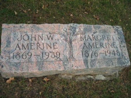 AMERINE, JOHN W. - Montgomery County, Iowa   JOHN W. AMERINE