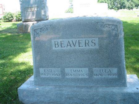 BEAVERS, EMMA - Montgomery County, Iowa   EMMA BEAVERS