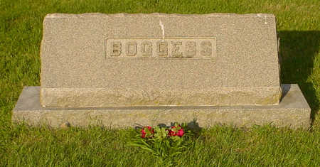 BOGGESS, FAMILY - Montgomery County, Iowa | FAMILY BOGGESS
