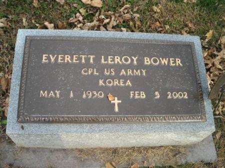 BOWER, EVERETT LEROY - Montgomery County, Iowa | EVERETT LEROY BOWER