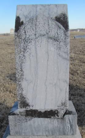BOYER, HENRY BERT - Montgomery County, Iowa | HENRY BERT BOYER
