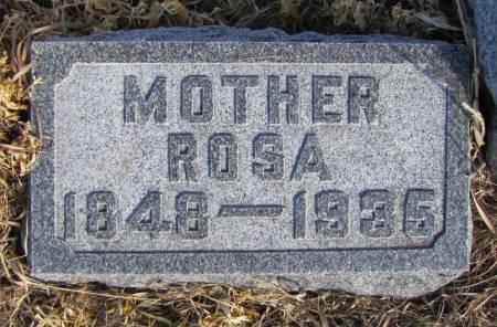 BOYER, ROSANA - Montgomery County, Iowa   ROSANA BOYER