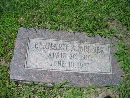 BRUNER, BERNARD A. - Montgomery County, Iowa | BERNARD A. BRUNER