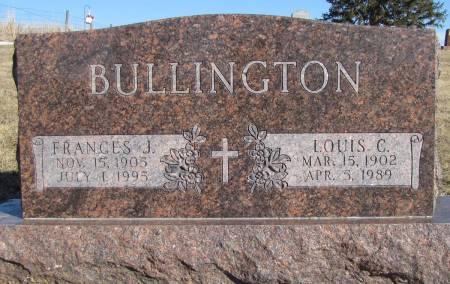 KELLENBARGER BULLINGTON, FRANCES J - Montgomery County, Iowa | FRANCES J KELLENBARGER BULLINGTON