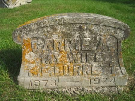 BURNETT, CARRIE A. - Montgomery County, Iowa | CARRIE A. BURNETT