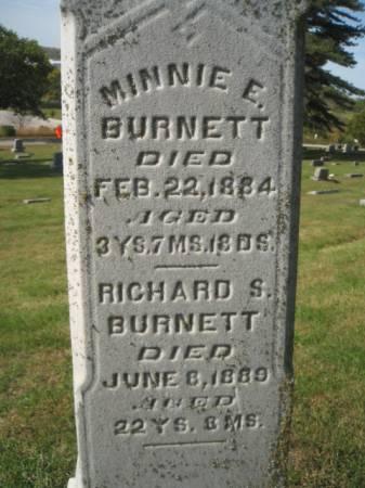 BURNETT, MINNIE E. - Montgomery County, Iowa | MINNIE E. BURNETT