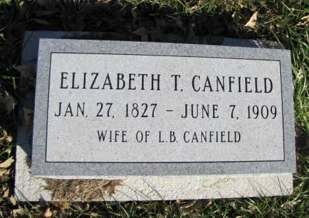 CANFIELD, ELIZABETH - Montgomery County, Iowa   ELIZABETH CANFIELD