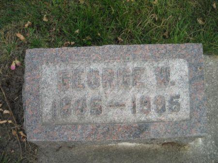 CARMICHAEL, GEORGE W. - Montgomery County, Iowa | GEORGE W. CARMICHAEL