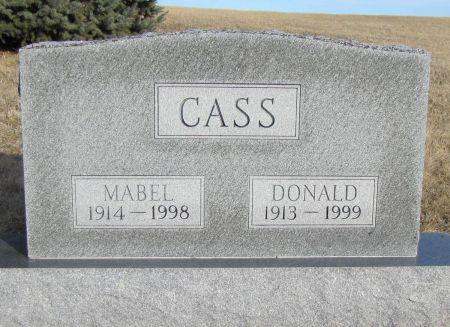 CASS, DONALD - Montgomery County, Iowa | DONALD CASS