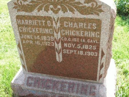 CHICKERING, CHARLES - Montgomery County, Iowa   CHARLES CHICKERING