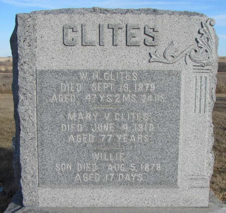 MORRIS CLITES, MARY V - Montgomery County, Iowa | MARY V MORRIS CLITES