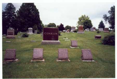 CONKLIN, MARKER - Montgomery County, Iowa | MARKER CONKLIN