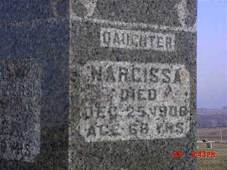 CONNER, NARCISSA - Montgomery County, Iowa | NARCISSA CONNER
