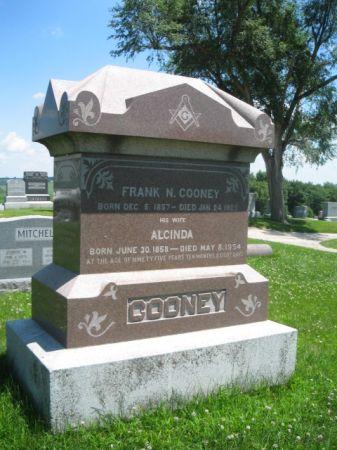 COONEY, FRANK N - Montgomery County, Iowa | FRANK N COONEY