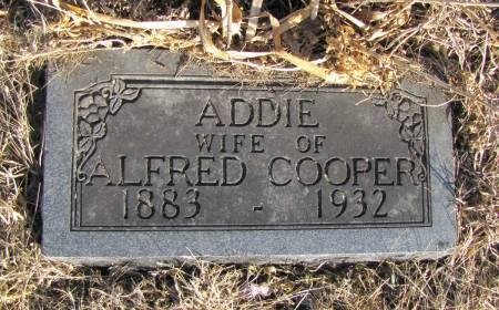 COOPER, ADDIE PEARL - Montgomery County, Iowa | ADDIE PEARL COOPER