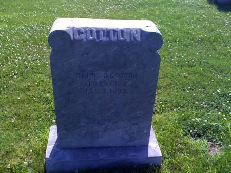COTTON, DELOS D - Montgomery County, Iowa | DELOS D COTTON
