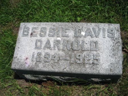 DAVIS DARNOLD, BESSIE - Montgomery County, Iowa | BESSIE DAVIS DARNOLD