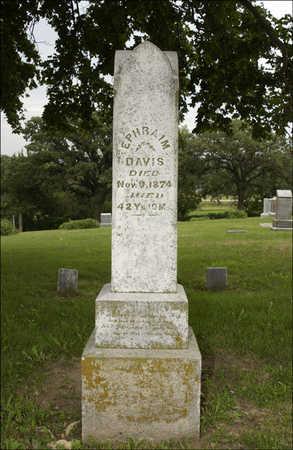 DAVIS, EPHRAIM - Montgomery County, Iowa   EPHRAIM DAVIS