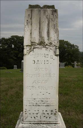 DAVIS, THOMAS G. - Montgomery County, Iowa | THOMAS G. DAVIS