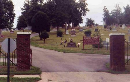 EVERGREEN, CEMETERY - Montgomery County, Iowa | CEMETERY EVERGREEN