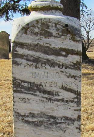 EWING, MARY JANE - Montgomery County, Iowa | MARY JANE EWING