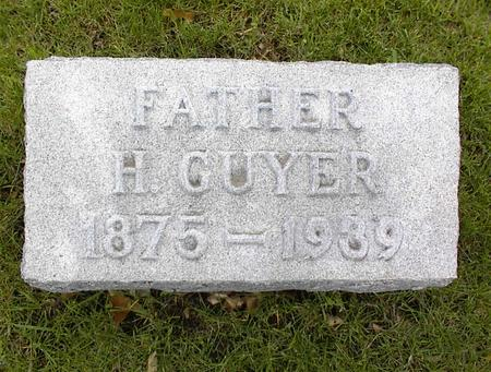 FINDLEY, HENRY GUYER - Montgomery County, Iowa | HENRY GUYER FINDLEY