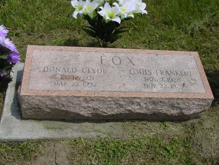 FOX, LOUIS  FRANKLIN - Montgomery County, Iowa | LOUIS  FRANKLIN FOX