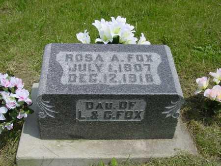 FOX, ROSA ADOLLA - Montgomery County, Iowa   ROSA ADOLLA FOX