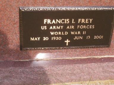 FREY, FRANCIS L. - Montgomery County, Iowa | FRANCIS L. FREY