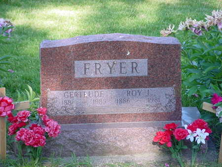 FRYER, ROY LOGAN - Montgomery County, Iowa | ROY LOGAN FRYER