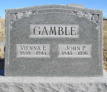 GAMBLE, JOHN P - Montgomery County, Iowa | JOHN P GAMBLE