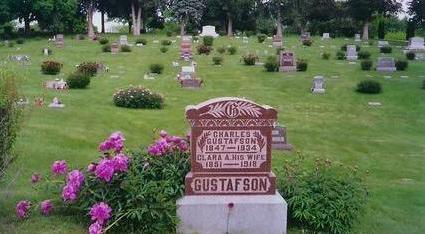 GUSTAFSON, CLARA A. - Montgomery County, Iowa | CLARA A. GUSTAFSON